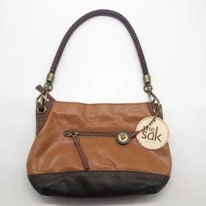 THE SAK Indio Genuine Leather Demi Handbag